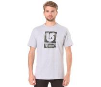 Logo Vertical - T-Shirt für Herren - Grau