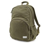 Fieldtrip Cnvs - Rucksack für Damen - Grün