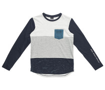 Pimpoye - Langarmshirt für Jungs - Blau