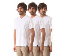 V-Neck Pack - T-Shirt für Herren - Weiß