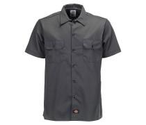 Slim S/S - Hemd für Herren - Grau
