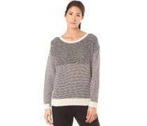 Block Biquet Knit - Strickpullover für Damen - Grau
