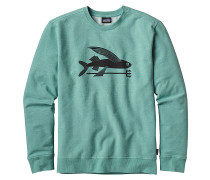 Flying Fish - Sweatshirt für Herren - Blau