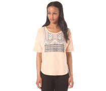 Knit Top - T-Shirt für Damen - Orange
