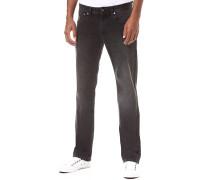 Kingston Zip - Jeans für Herren - Schwarz