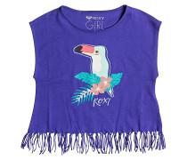 Whispers Under The Rain - T-Shirt für Mädchen - Lila