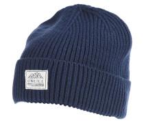 Bouncer Wool Mix - Mütze für Herren - Blau