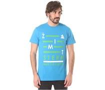 Zimtstern TSM Blanks - T-Shirt für Herren - Blau