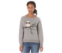 Fly Right Crewneck - Sweatshirt für Damen - Grau