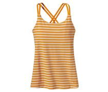 Cross Back - Top für Damen - Orange