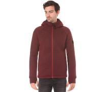 Hooded Zip - Kapuzenjacke für Herren - Rot