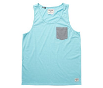All Day Pocket Tank - Top für Herren - Blau