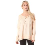 Its Chemistry Henley - Sweatshirt für Damen - Orange