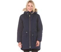 Parka - Mantel für Damen - Blau