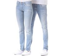 Tight Long John Jeans - Blau