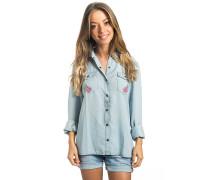 Papilo - Bluse für Damen - Blau