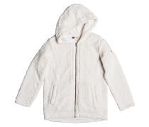 Curl Out Coat - Fleecejacke für Damen - Weiß