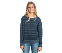 Bilbao Fleece - Langarmshirt für Damen - Blau