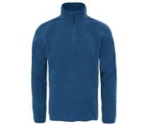 100 Glacier 1/4 Zip - Outdoorpullover für Herren - Blau