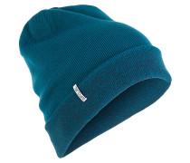 Leopard - Mütze für Damen - Blau