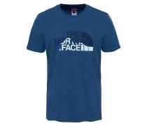 Mountain Line - T-Shirt für Herren - Blau