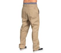 Flannel Lined Work - Stoffhose für Herren - Beige