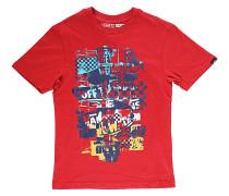 OTW Checker Blaster - T-Shirt für Jungs - Rot