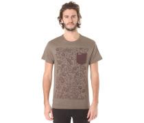Snapper A/O Pocket - T-Shirt - Grün