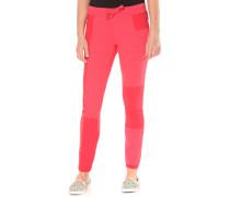 Patchwork - Hose für Damen - Rot