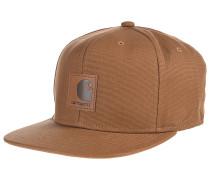 LogoSnapback Cap Braun