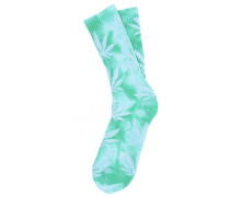 Tie Dye Plantlife Crew - Socken für Herren - Grün
