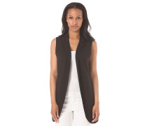 Sleeveless Sweat - Weste für Damen - Schwarz