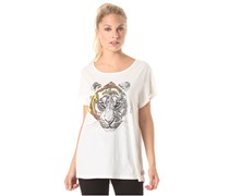 Tiger Diamond - T-Shirt für Damen - Weiß