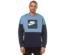 Crew Air Fleece - Sweatshirt - Blau