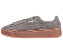 Suede Platform Bubble - Sneaker - Grün
