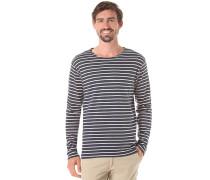 Stripe - Langarmshirt für Herren - Blau
