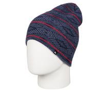 Checkstripe - Mütze für Herren - Blau