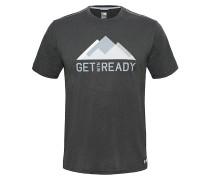 MA Graphic Reaxion AMP Crew - T-Shirt für Herren - Grau