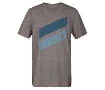 Icon Slash Push Through - T-Shirt - Grau
