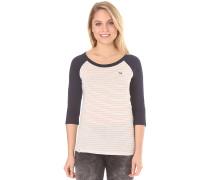 Raglan Stripe - Langarmshirt für Damen - Beige