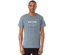 Broken Angle - T-Shirt für Herren - Blau