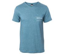 Box Over Pocket - T-Shirt für Herren - Blau