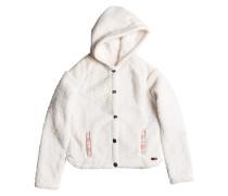 Oats - Kapuzenjacke für Mädchen - Weiß