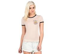 Run Around Ringer - Top für Damen - Pink