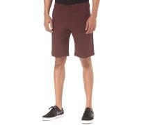 Flex Grip - Chino Shorts für Herren - Rot