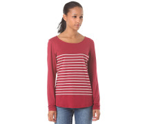 Lotte - Langarmshirt für Damen - Rot