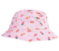 Reversible Sun - Hut für Mädchen - Rot
