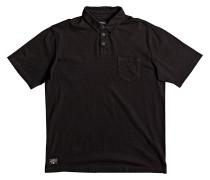 Strolo 7 - Polohemd für Herren - Schwarz