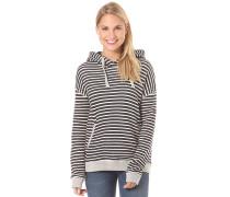 Shoal Stripe - Kapuzenpullover für Damen - Schwarz