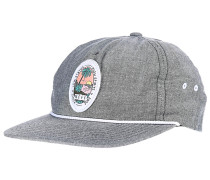 Palm Palm Snapback Cap - Grau